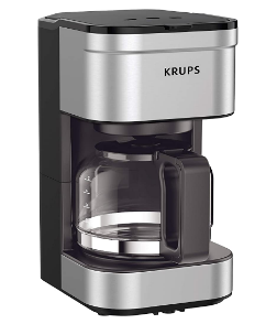 Amazon: 5-Cup, Silver Coffee Maker Only $24.25 (Reg. $34.70)