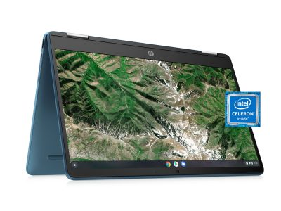 """Walmart: HP 14"""" 2-in-1 Touch Teal Chromebook For $219.00 WAS $299.00"""