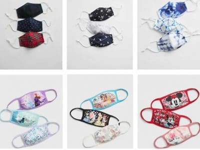 Gap Factory: Gap Adult & Kids Reusable Face Mask 3-Packs Only $5