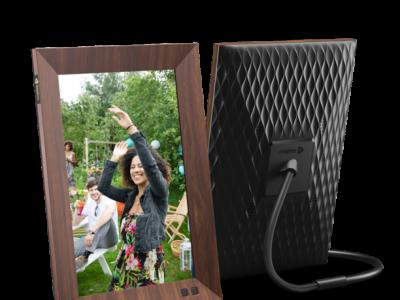 Walmart: Nixplay 10 Inch Smart Digital Photo Frame W10F Wood For $134.99 Reg.$199.99