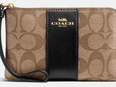 Coach Outlet Wristlet $24 Shipped (Reg $78)