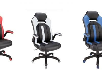 OfficeDepot: Realspace Gaming Bonded Leather High-Back Chair $99.99 ($200)