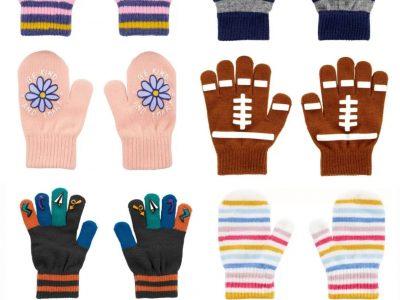 OshKosh Gloves & Mittens Sets (2 pack) for $4.00