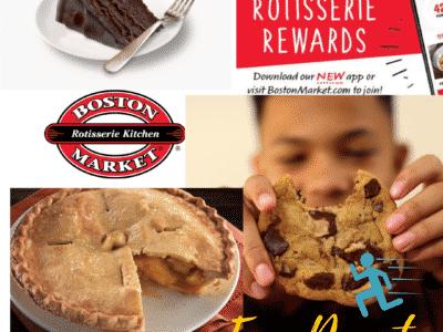 Freebie: 2 FREE Boston Market Individual Desserts - Choose from Cake, Pie, Cookies