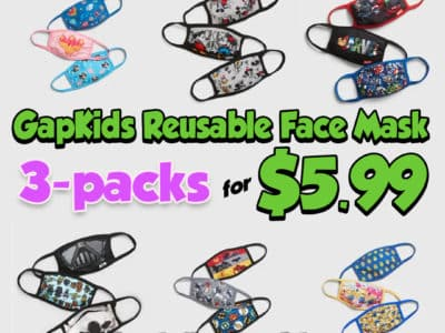 Gap Factory: GapKids Reusable Face Mask 3-Packs Only $5.99