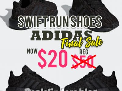 Adidas: Swift Run Shoes, Just $20 (Reg $50)