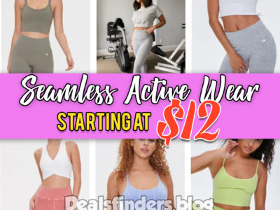 Forever 21: Seamless Activewear, starting at $12!