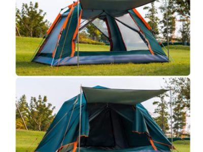Amazon: 4-Person Pop up Camping Tent with Rainfly for $75.96 (Reg. Price $189.90) after code!