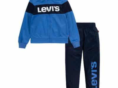 Macy's: Levi's Toddler Boys Colorblock 2 Piece Tracksuit Set for $19.99 (Reg. Price $48.00)