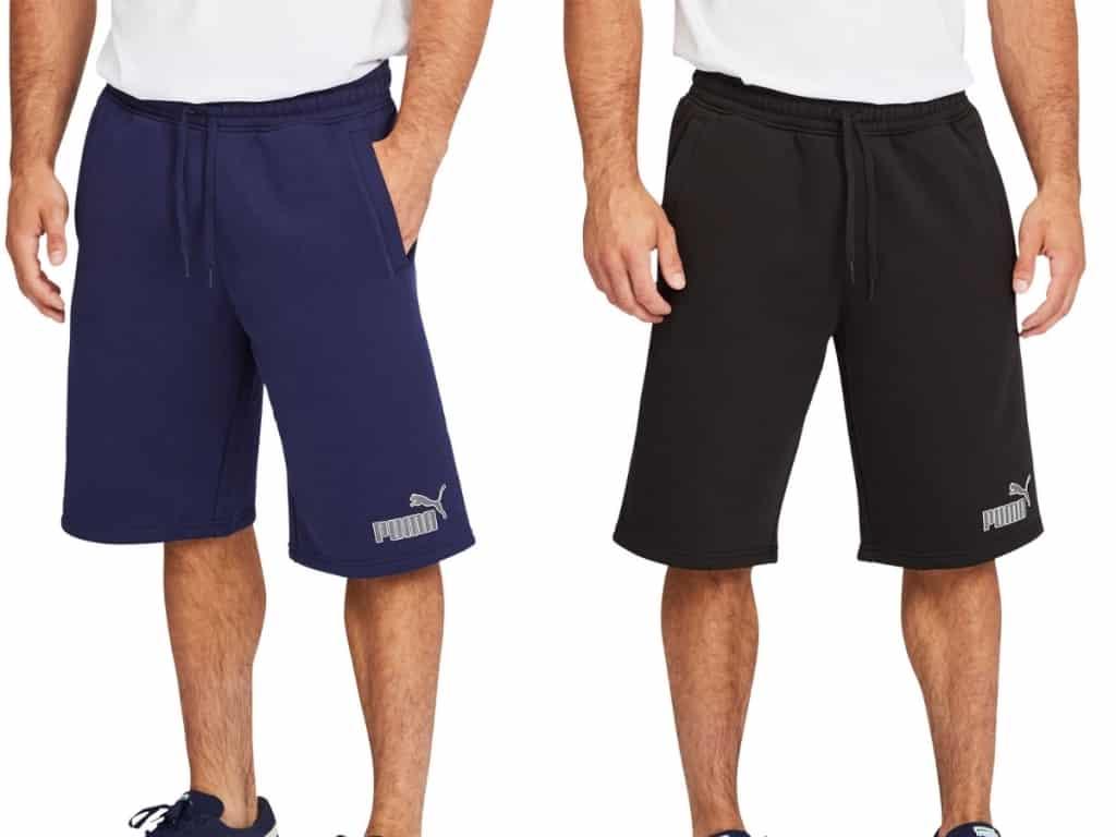 PUMA Men's Fleece Shorts from $4.99 Each on Costco.com (Regularly $15)