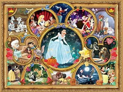 Disney Classics Classic Collage Jigsaw Puzzle, 1500 Pieces for $8.25!
